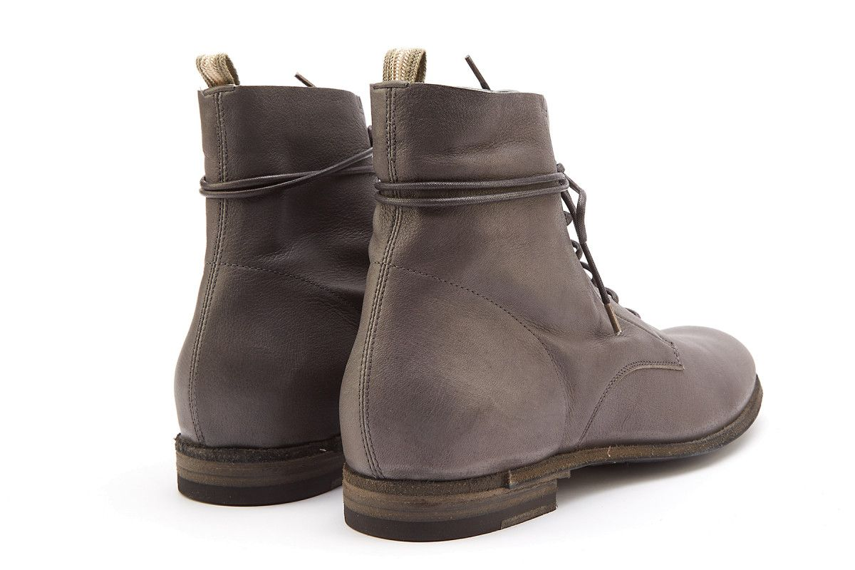 Women's Lace Up Ankle Boots OFFICINE