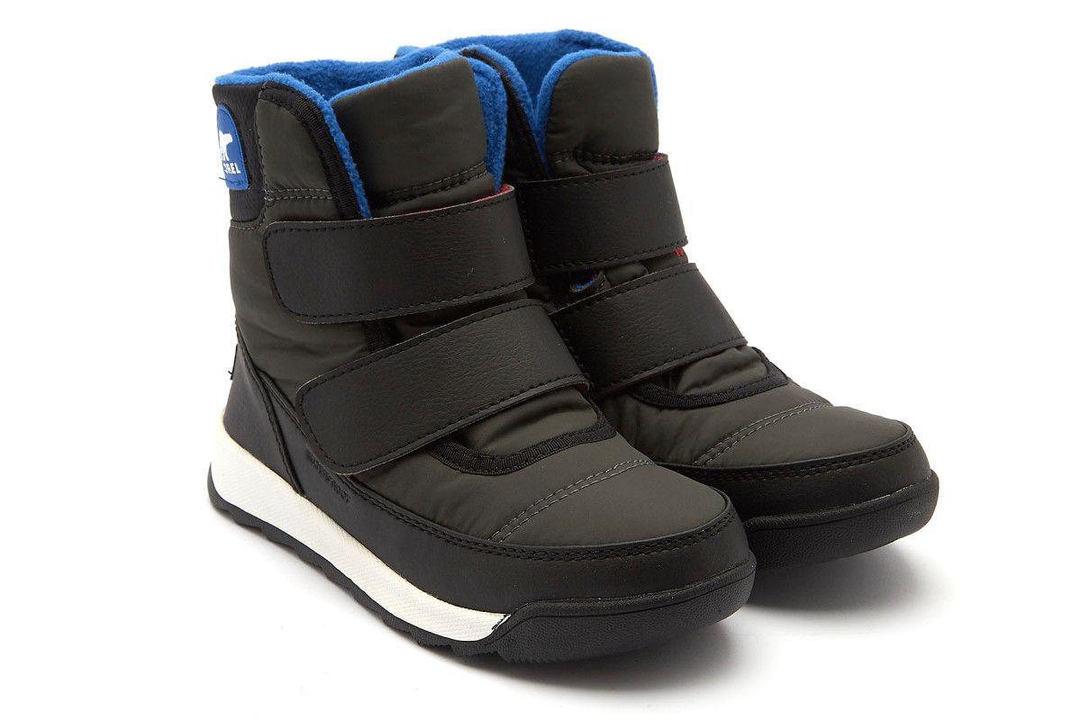 Kid's Insulated Boots SOREL Childrens Whitney II Coal