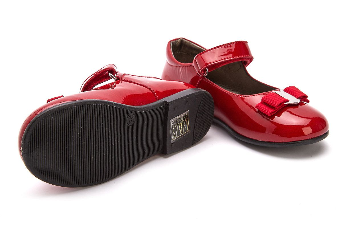 another chance pick up best sale Kid's Ballerinas NATURINO Jete Rosso