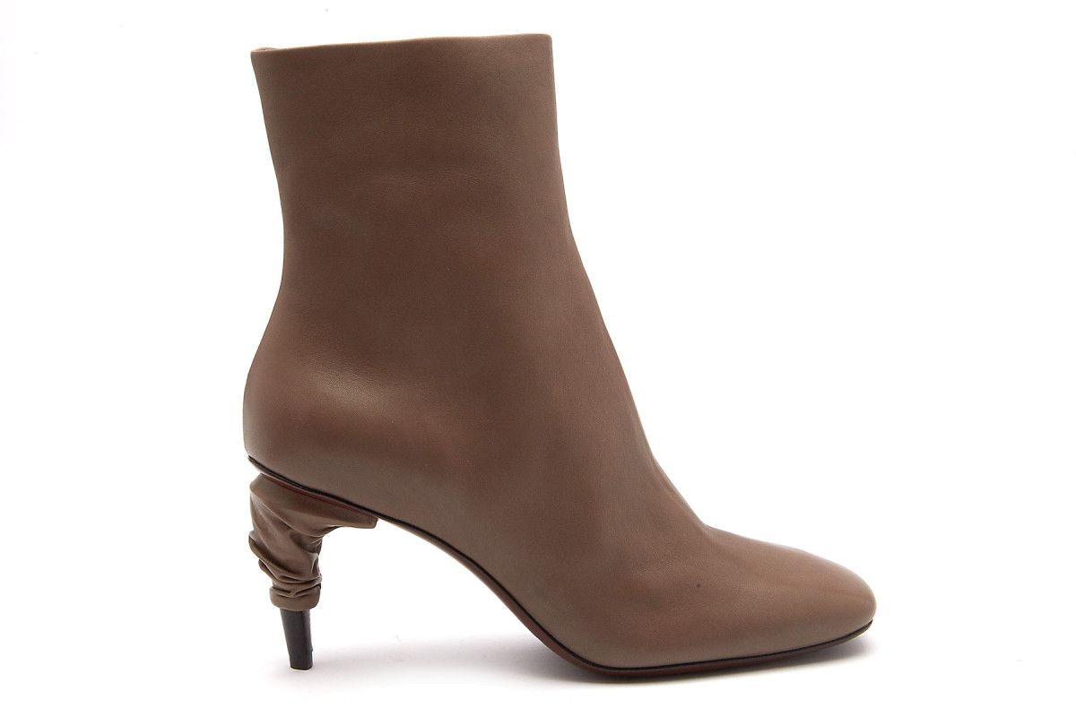 Women's Ankle Boots OFFICINE CREATIVE Rondha 011 Walnut
