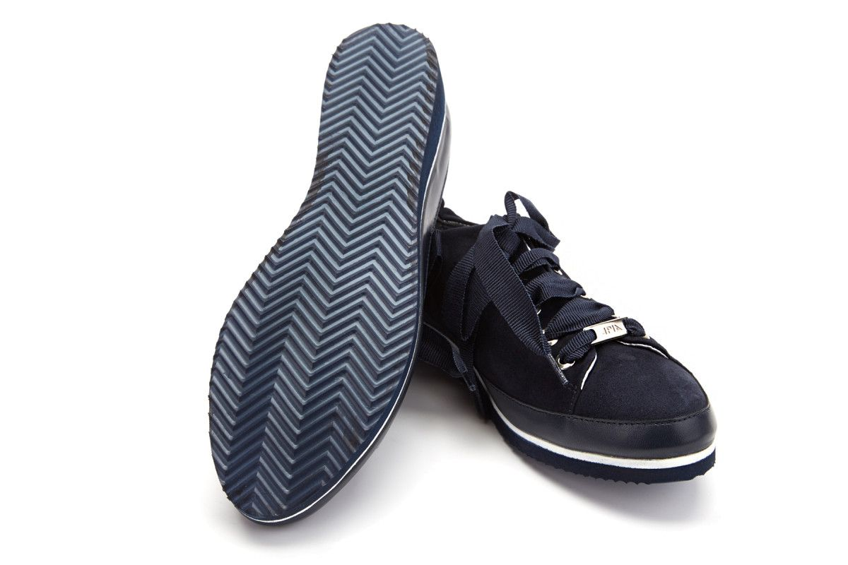 Women's Sneakers APIA Pulia Camoscio Nappa Blu
