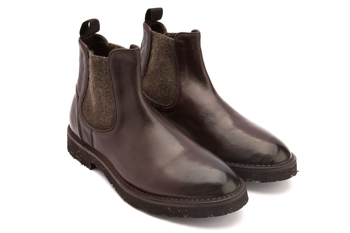 Men's Chelsea Boots APIA Buyer Choccolate