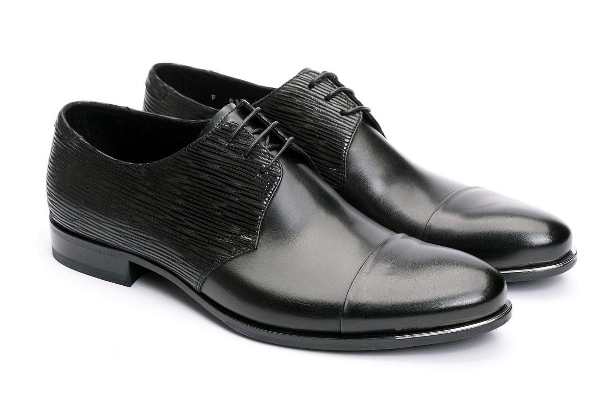 Men's Derby Shoes FABI 8300 Nero