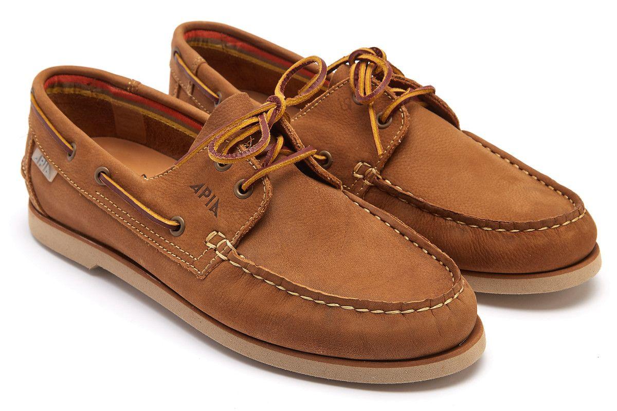 Men's Boat Shoes APIA 77 Racing Montana