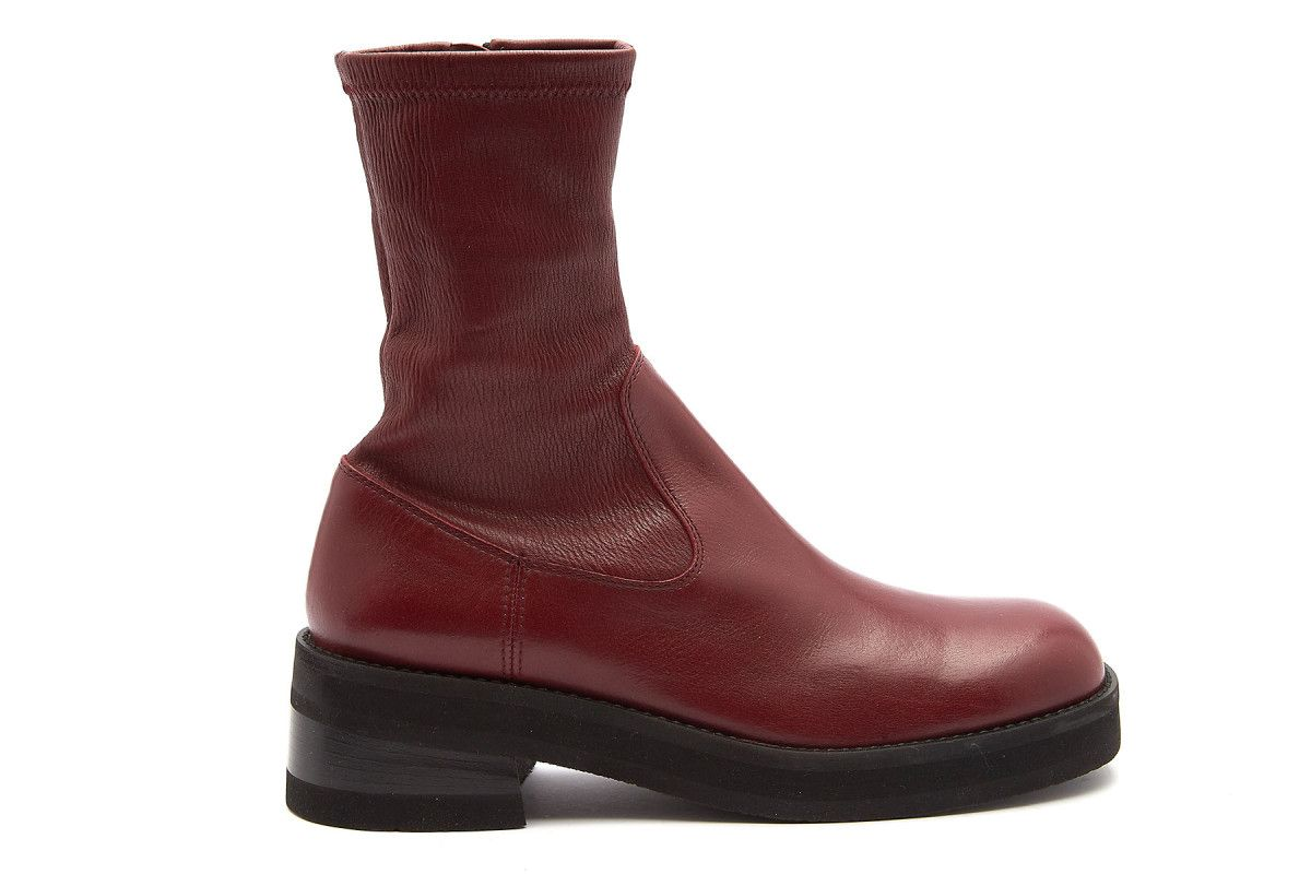 Women's Ankle Boots OFFICINE CREATIVE Maeva 001 Red