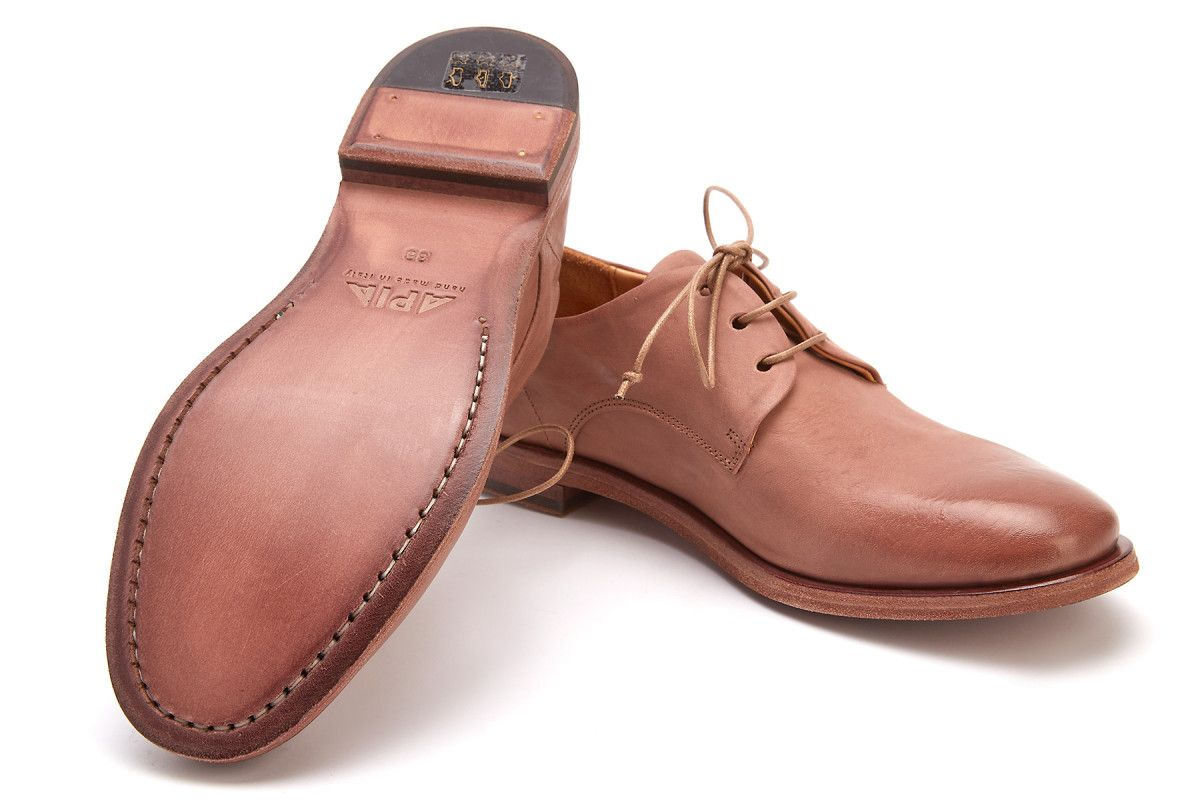 Women's Lace Up Shoes APIA Maryann Nude