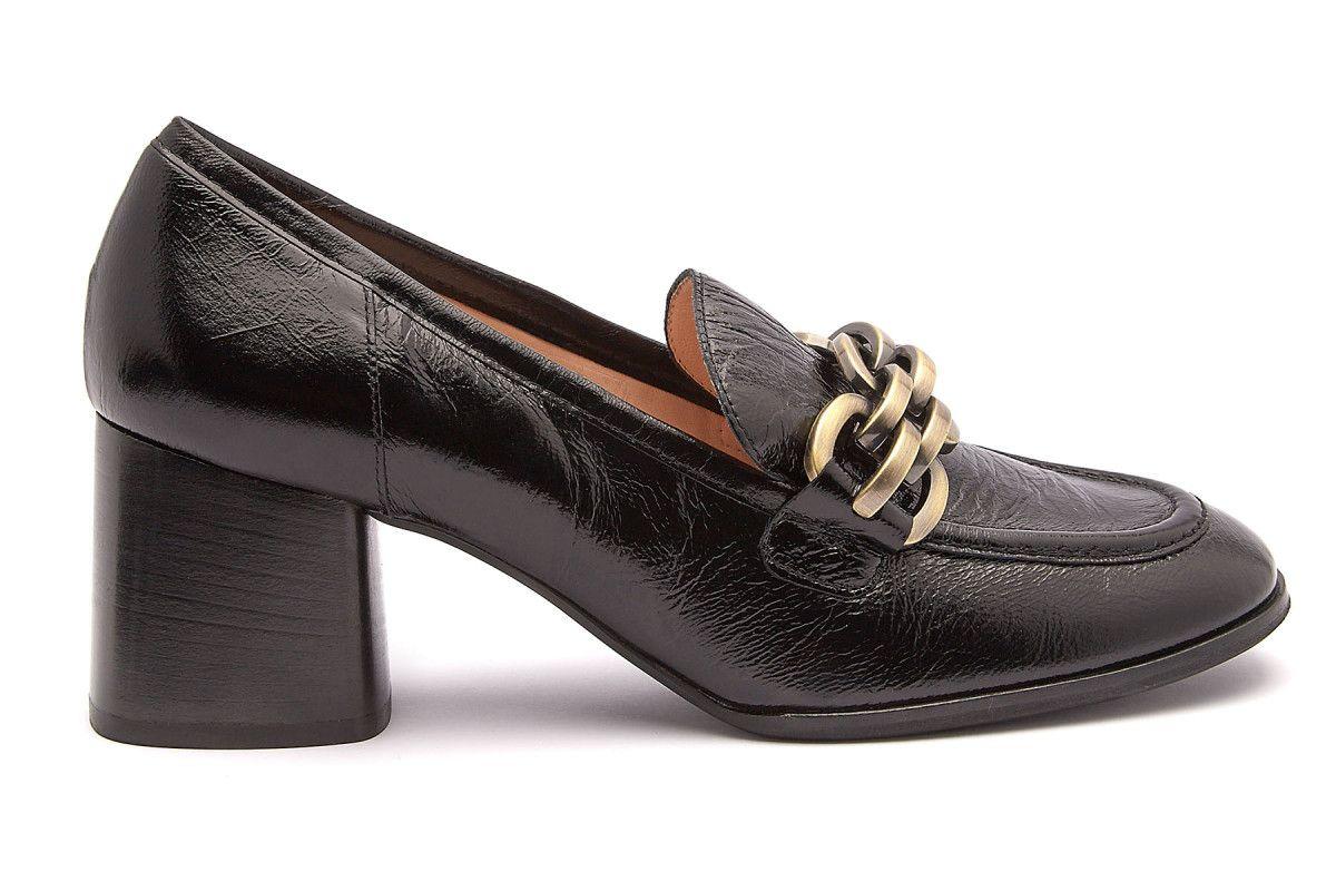 Women's Pumps Loafers HOGL 0-106211 Schwarz Amanda | Apia