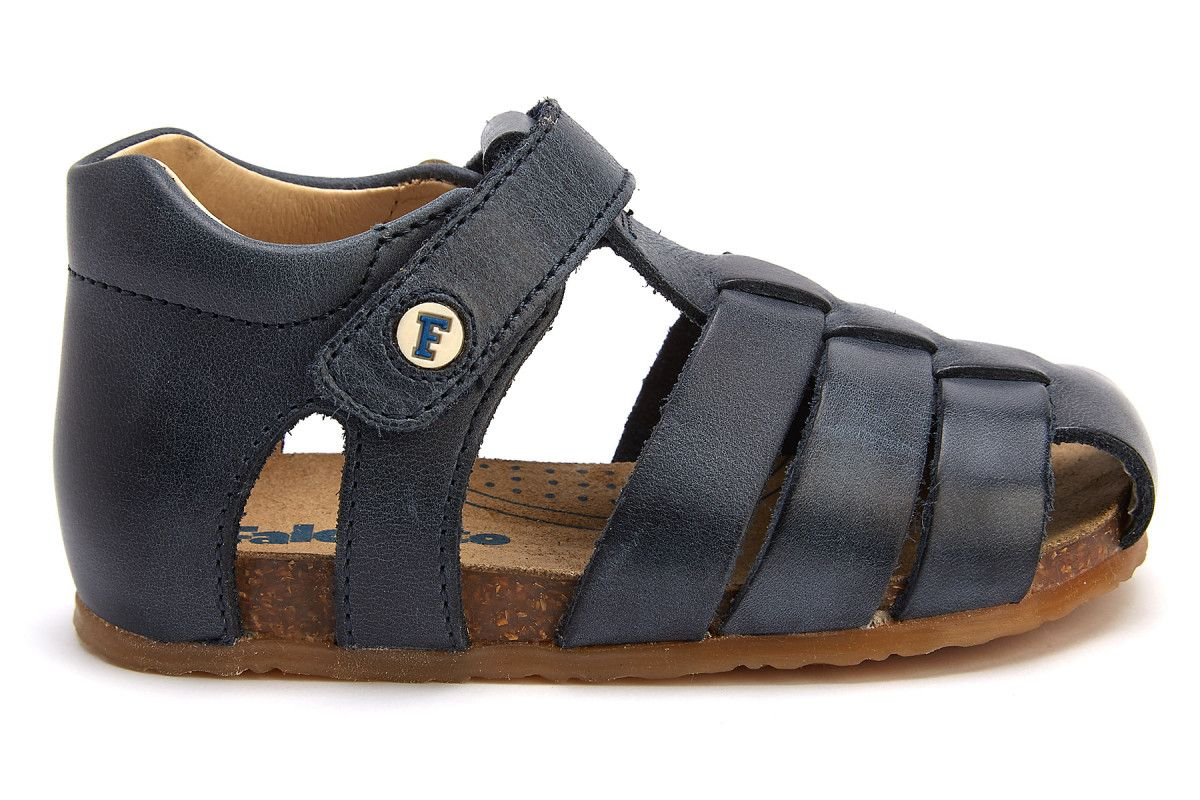Kid's Sandals NATURINO Alby Bleu