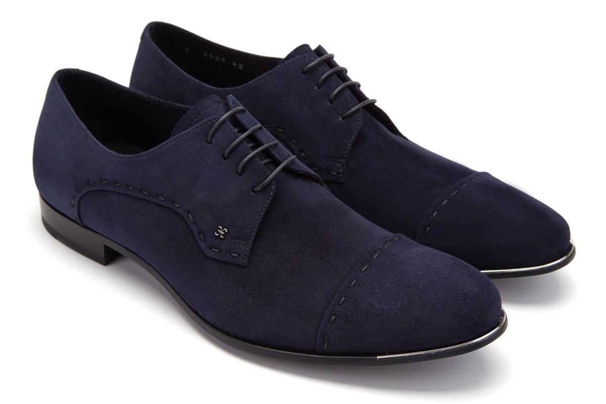 Men's Derby Shoes FABI 8567 Blu