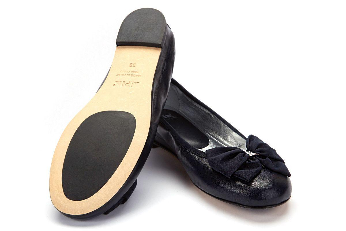 Women's Ballet Pumps APIA Primabalerina 02 Nappa Blu