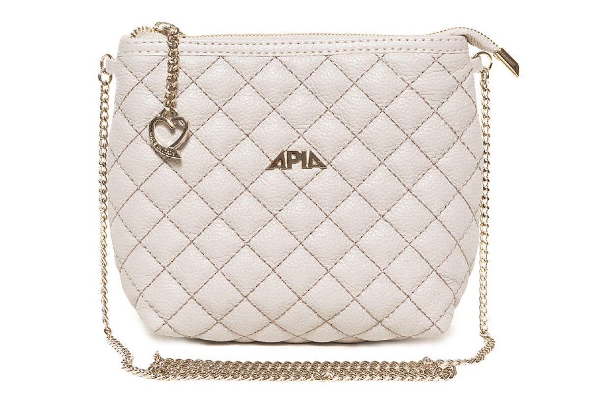 Women's 210 Bag APIA 2466 Rom20 Pegaso Avorio Oro