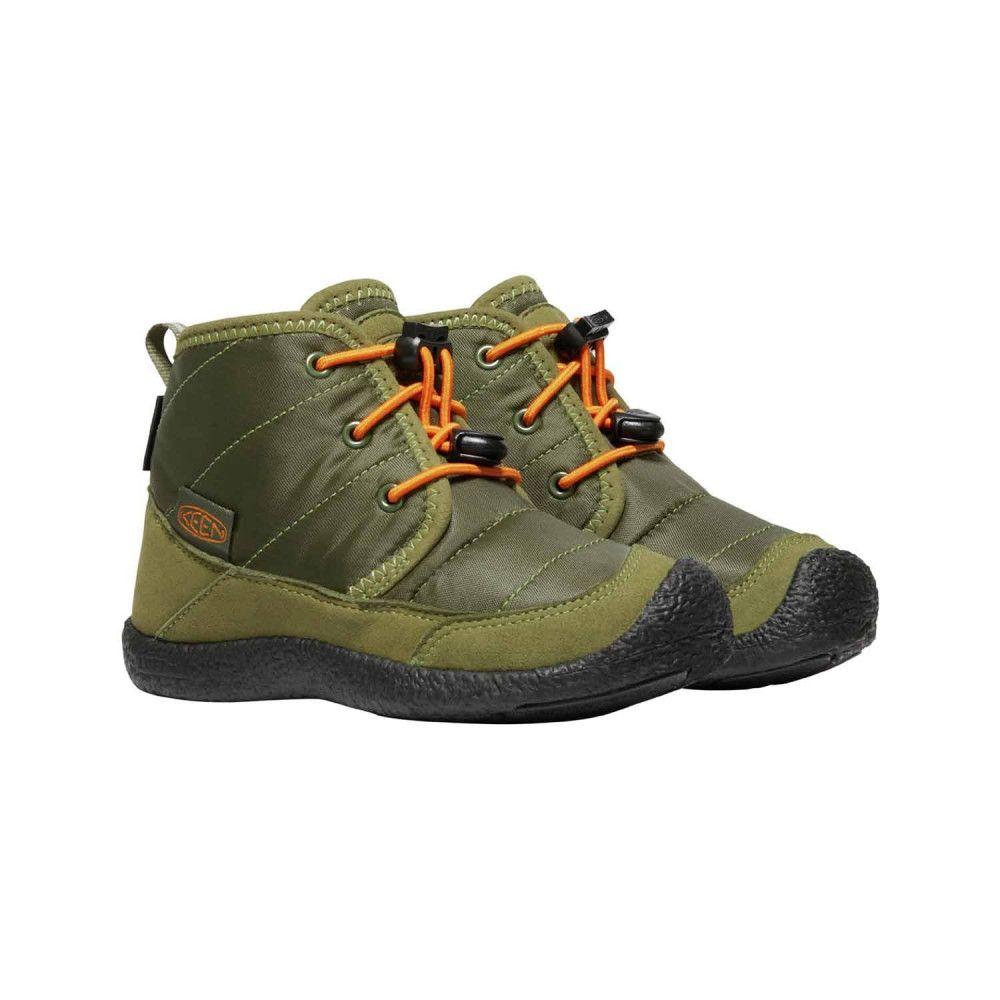 Kid's Insuleted Ankle Boots KEEN Howser II Chukka Wp Cap.Olive