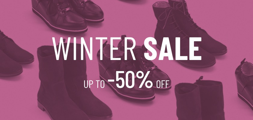 Winter Sale up to -50%