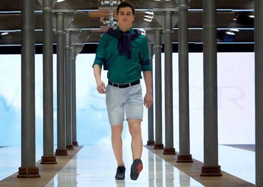 Apia Sneakers ss17 Van Graff Wilsoor Klub Starego Browaru model Patryk Grudowicz