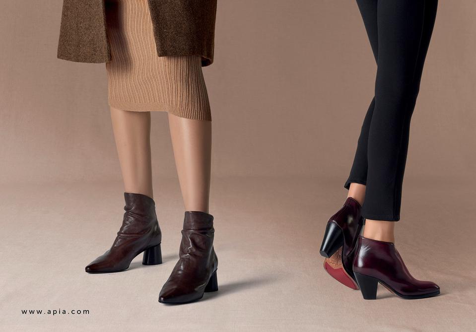 Apia botki ankle boots kowbojki damskie