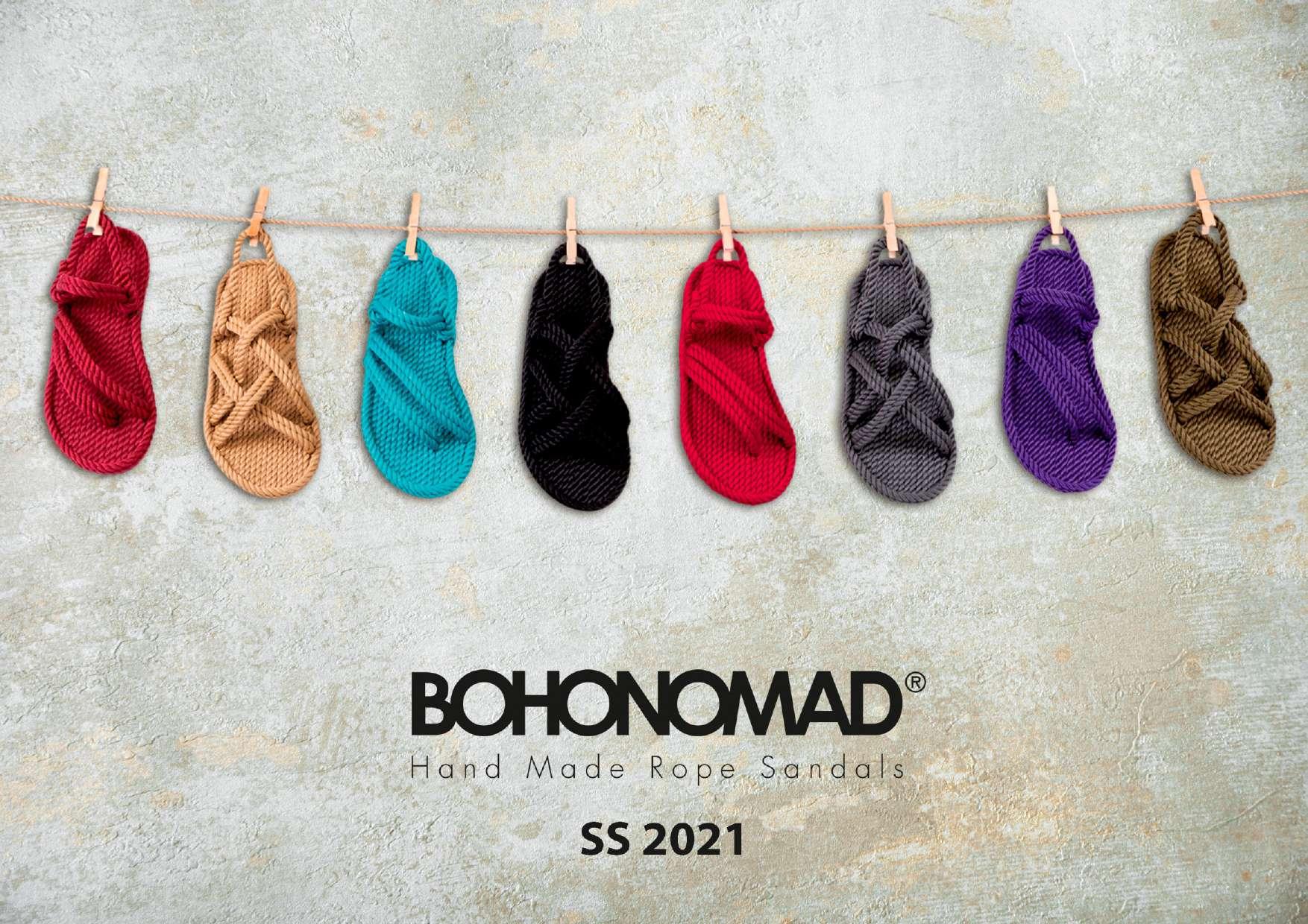 Bohonomad sandals