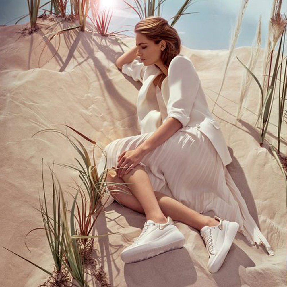 białe buty damskie APIA Hogl