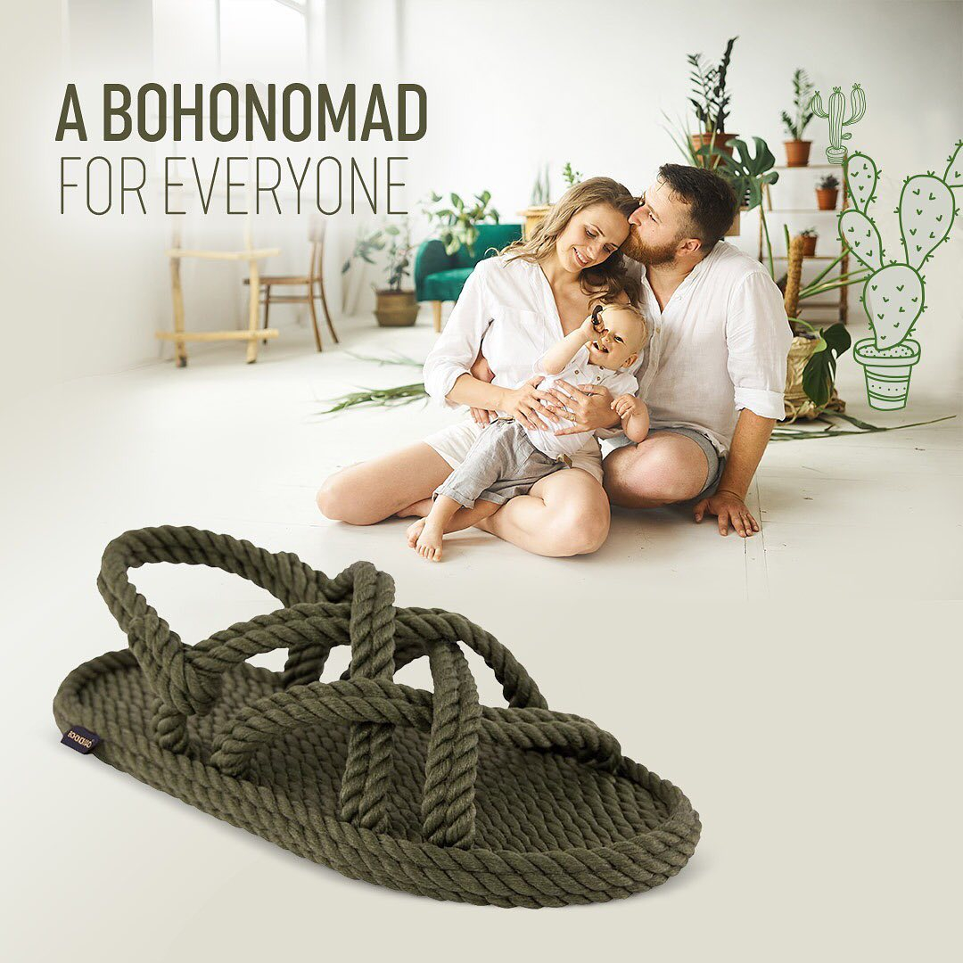 bohonomad green sandals apia shoes