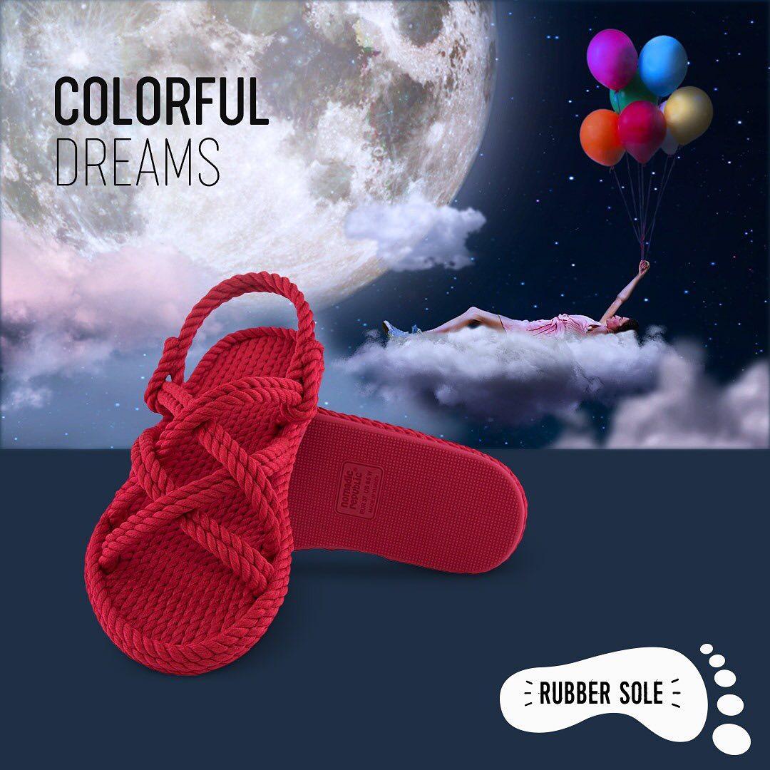 czerwone sandały ze sznurka bohonomad buty apia
