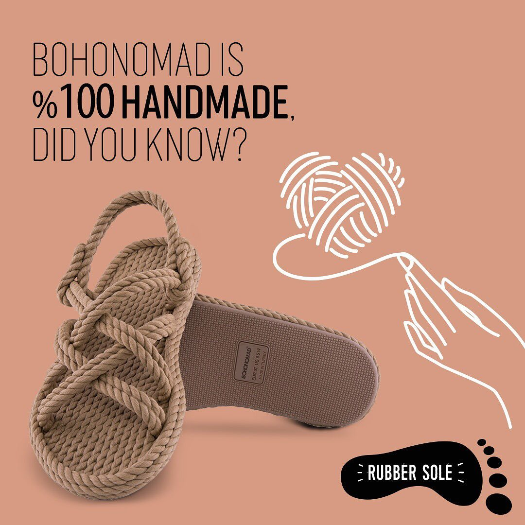 hand made rope sandals bohonomad apia shoes