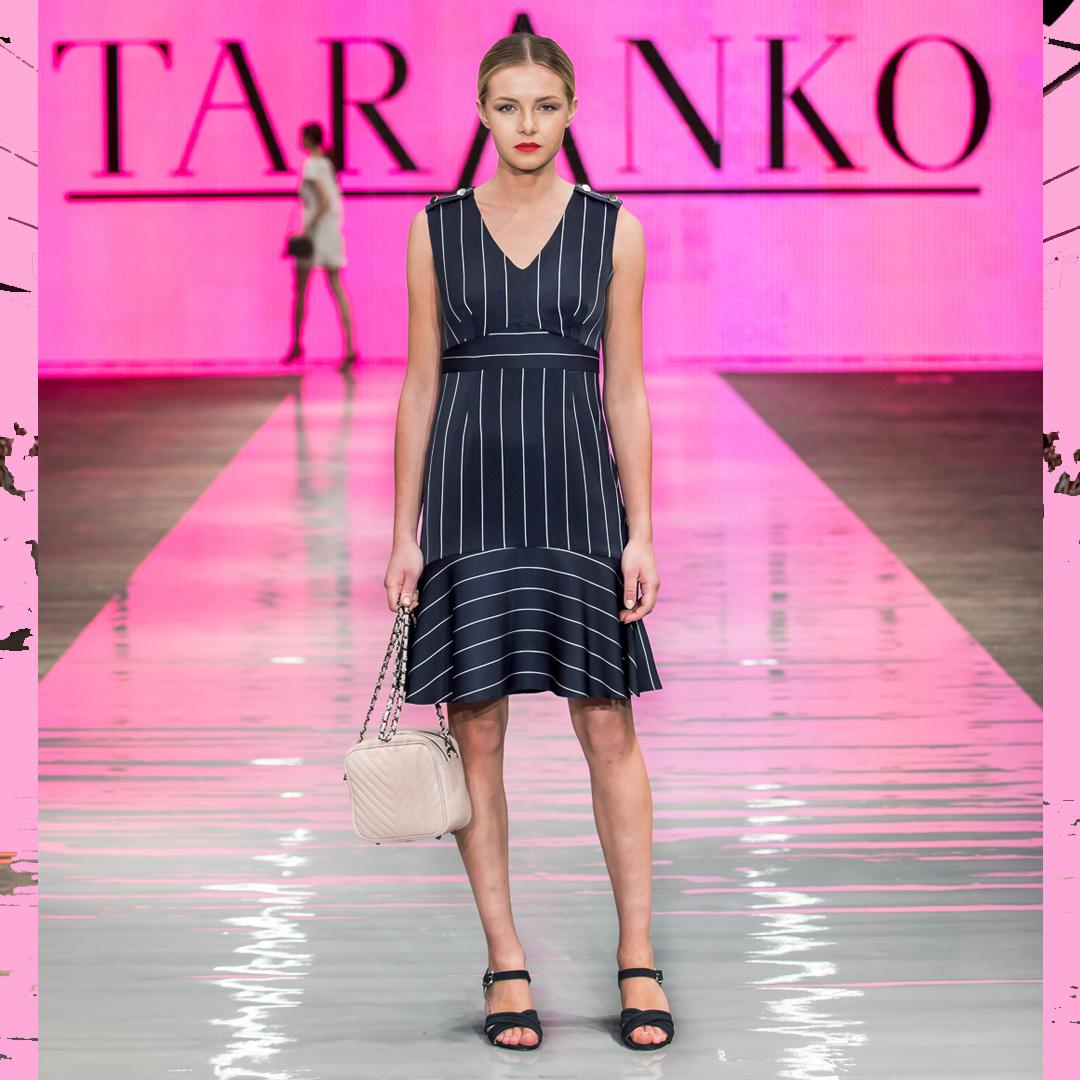 klasyczne sandały na słupku APIA sukienka Taranko