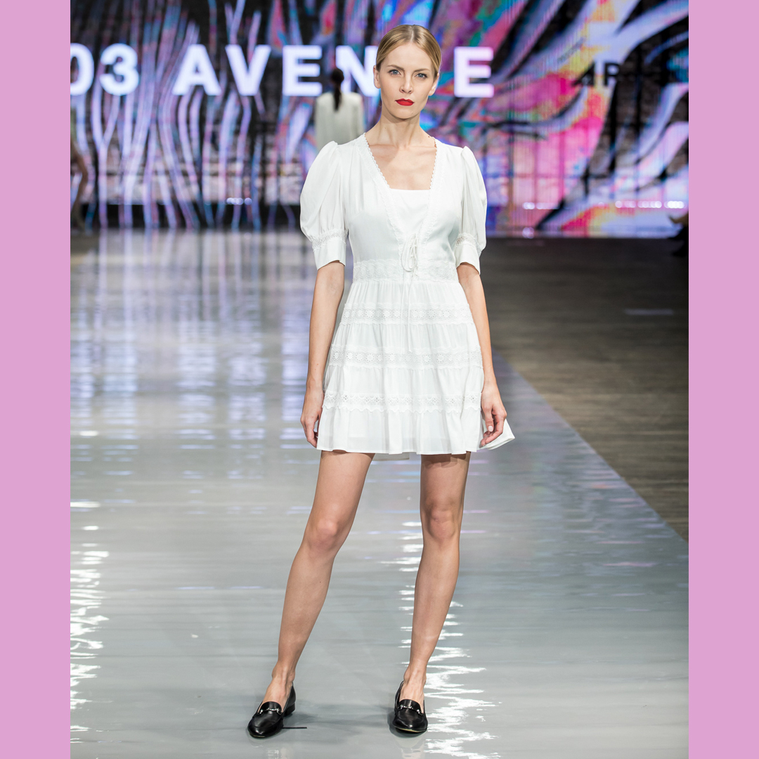 mokasyny damskie APIA sukienka 303 Aveneu