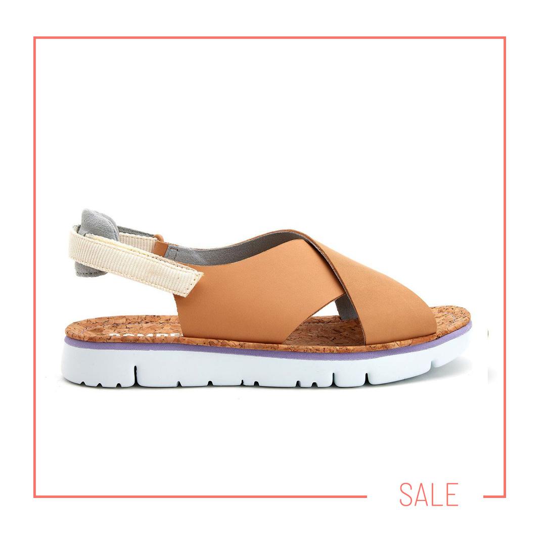 sandały na platformie Camper kolekcja APIA