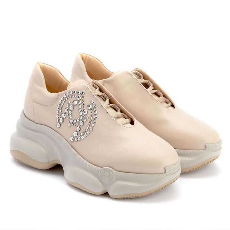 APIA Nando Muzi Nude Platform Sneakers