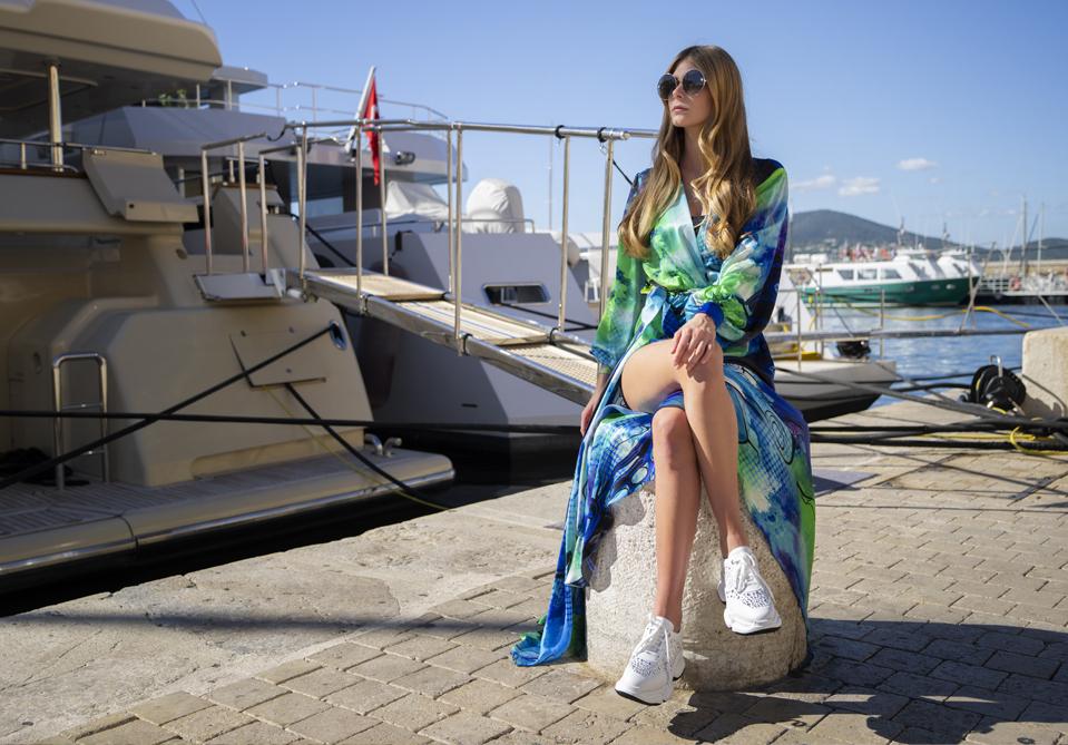 sneakersy na platformie buty APIA kolekcja Nando Muzi