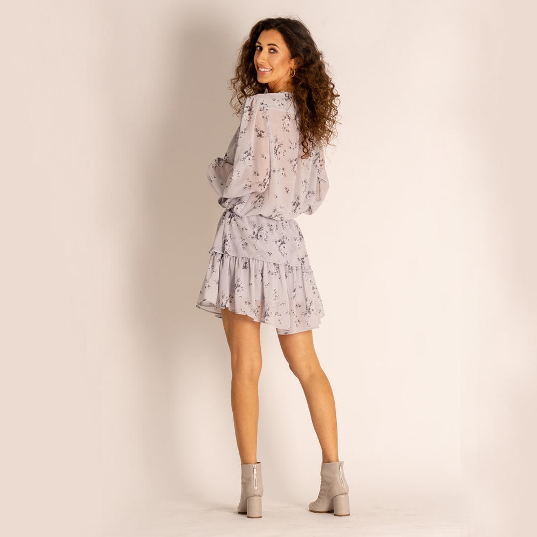 sukienka Angell szare botki APIA Officine Creative
