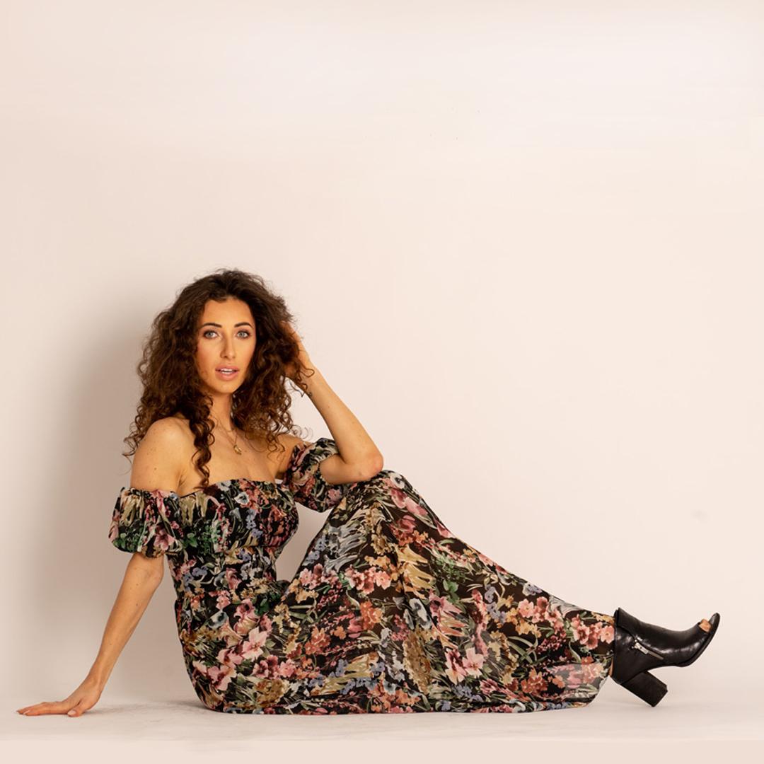sukienka hiszpanka Angell sandały APIA