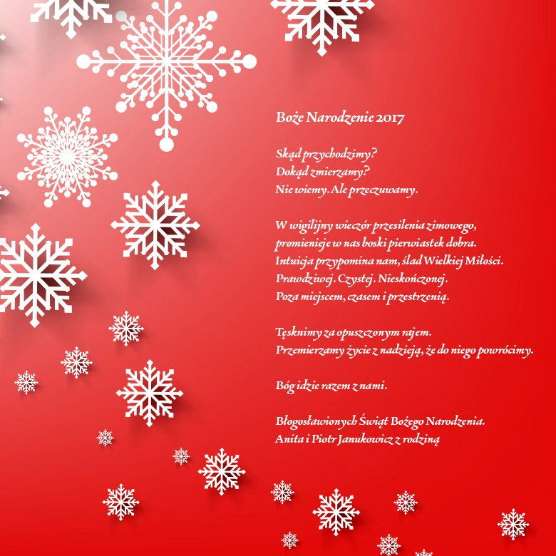 życzenia świąteczne od salonów obuwniczych Apia